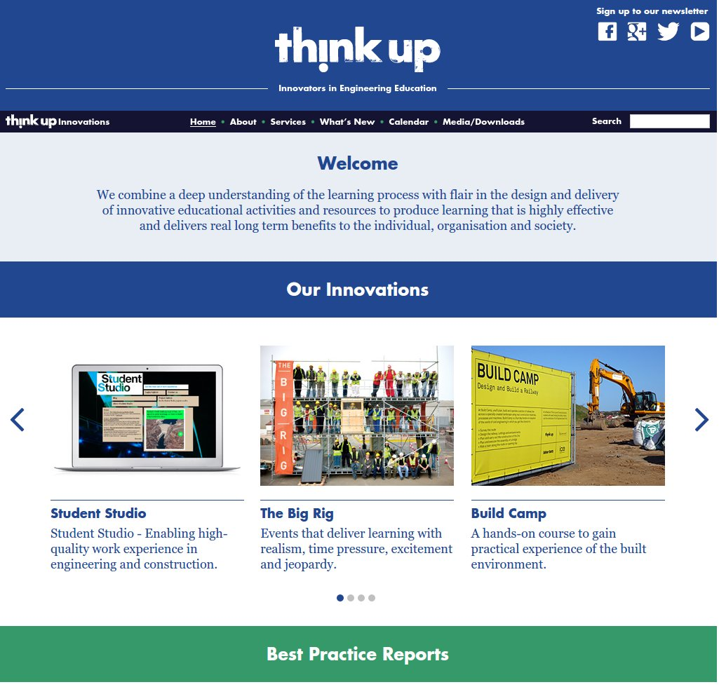 Featured image of Project: Think Up