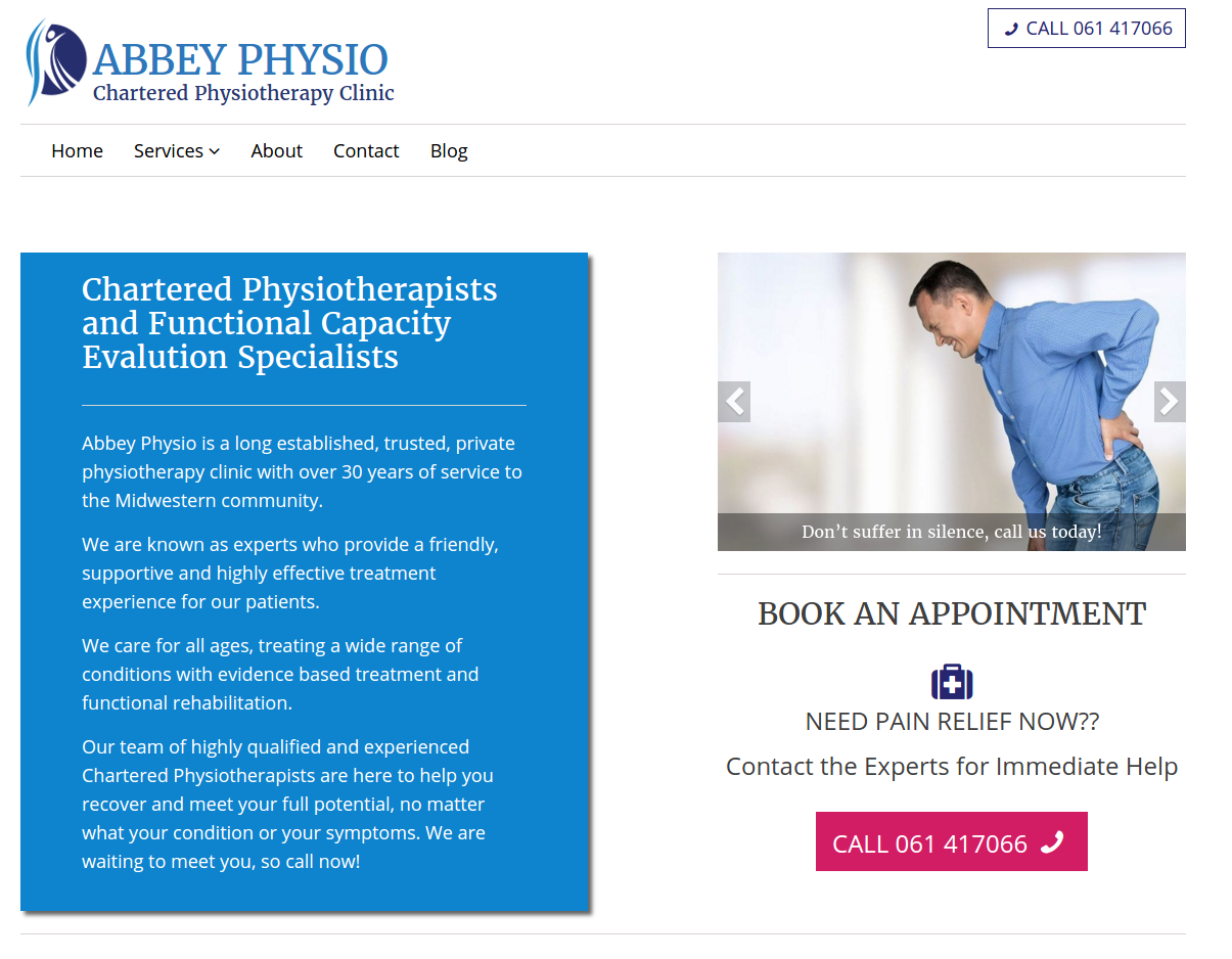 Featured image of Project: Abbey Physio